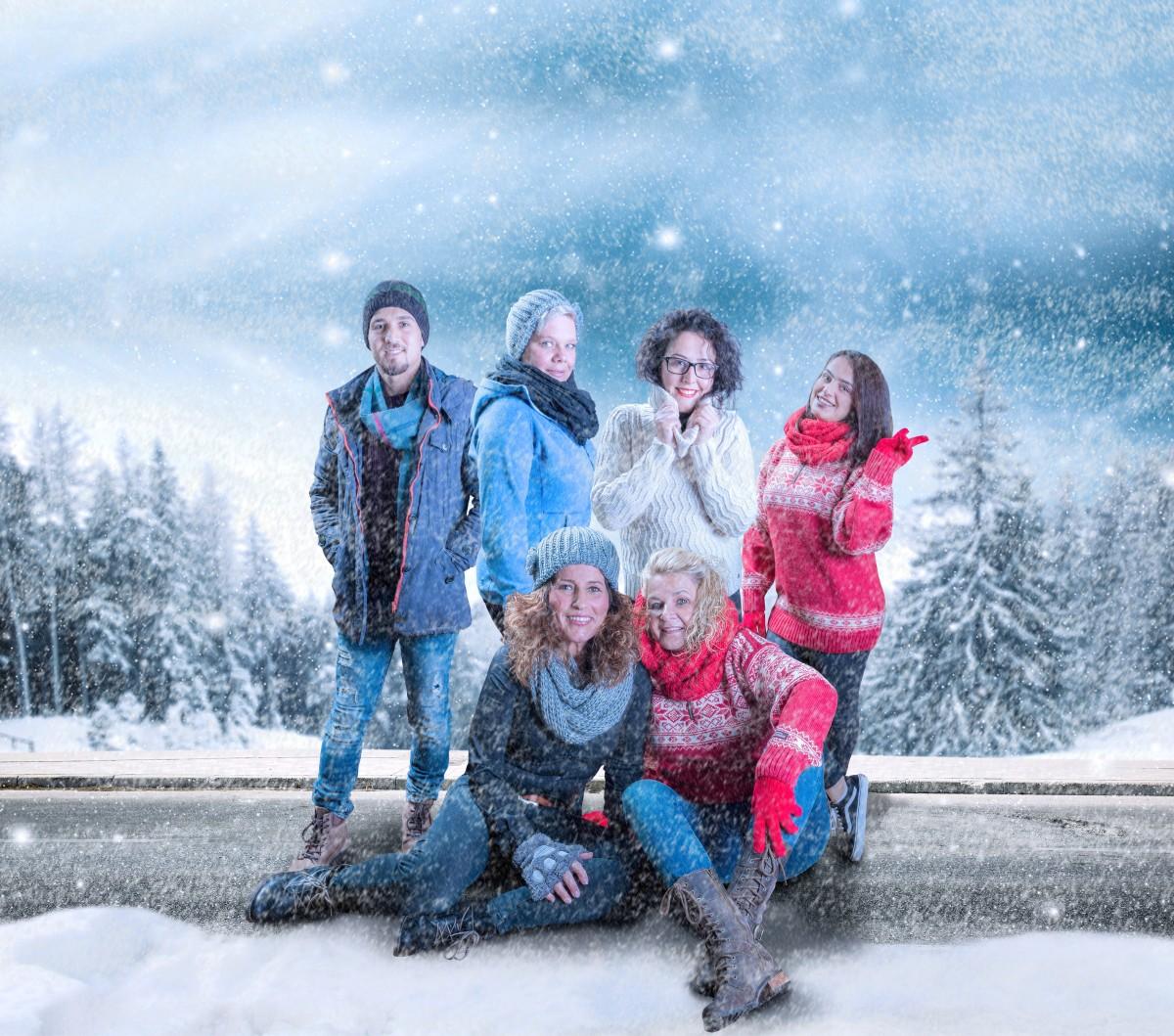 Hendrich - Design & Fotografie - Mitarbeiter Weihnachtsbild
