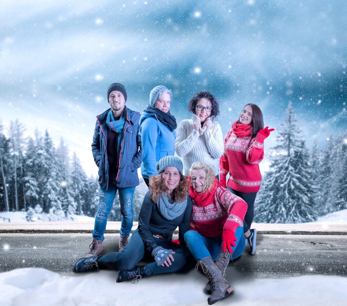 Hendrich - Design & Fotografie Duisburg - Haar2O Weihnachtscomposing Spezial
